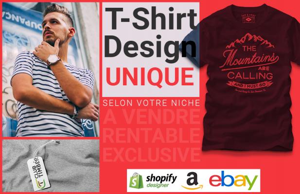 vous Créer Un Design De Tshirt Unique Selon Votre Niche