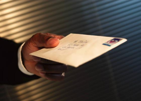 vous envoyez la lettre type dont vous avez besoin