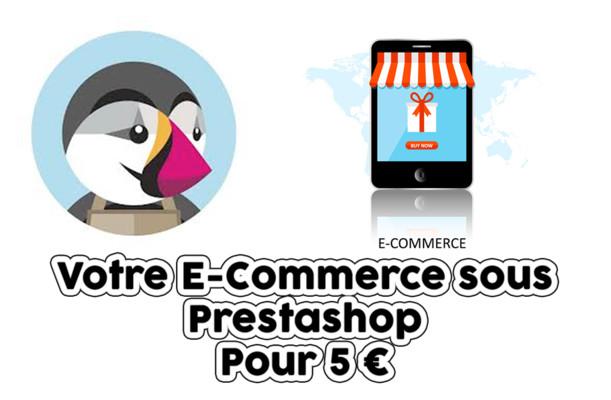 installer et créer votre site e-commerce sous prestashop