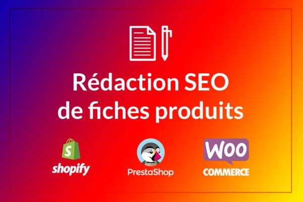 rédiger une fiche produit optimisée SEO pour Shopify ou Prestashop