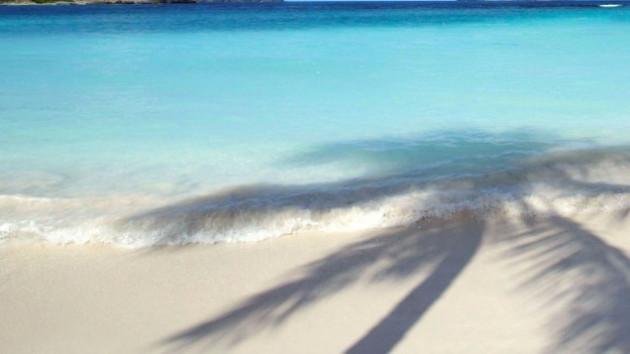 écrire votre nom ou celui de votre entreprise sur le sable blanc des caraïbes