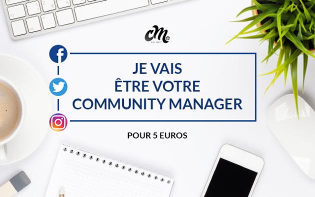 être votre Community Manager