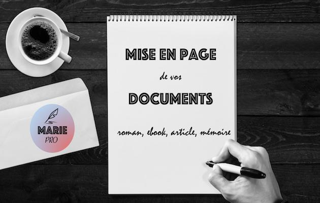 réaliser une mise en page attractive de votre document