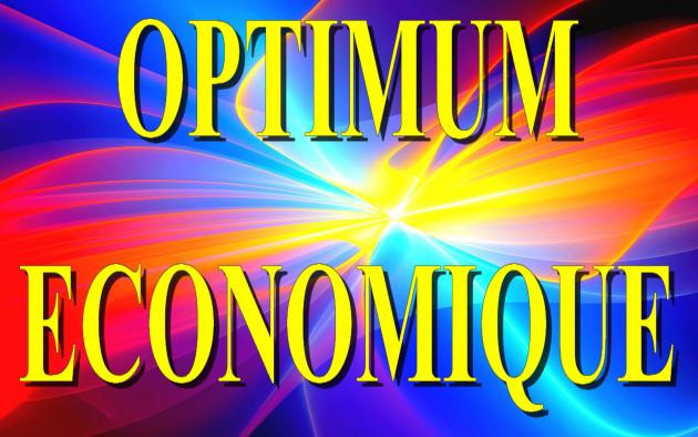 calculer votre Optimum Economique ( Maximum de Profit )
