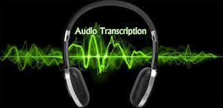 faire la transcription de vos fichiers audio/vidéo