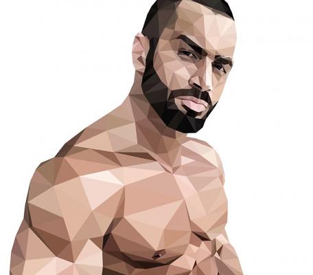 réaliser un dessin/portrait polygonal