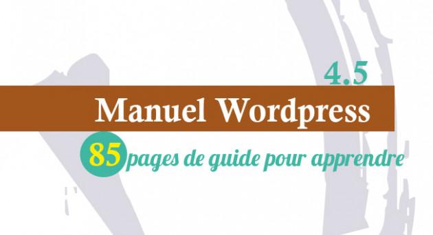 je vais envoyer un guide pratique sur wordpress de 80