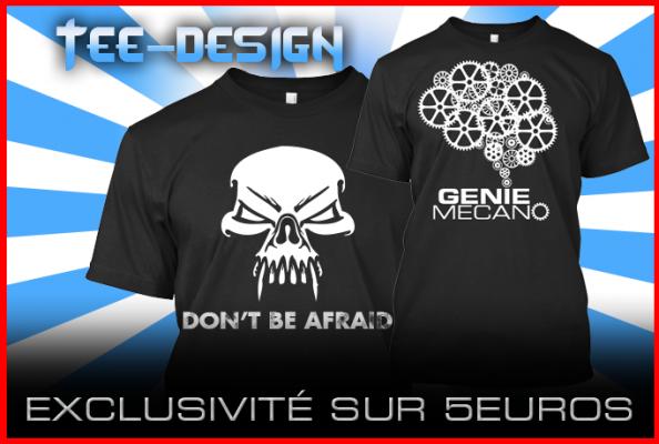 faire le design votre T-Shirt en 24h