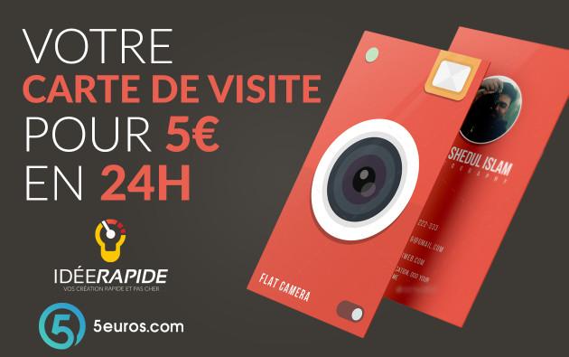 Je Vais Creer Votre Carte De Visite En 24H Pour 5 EUR