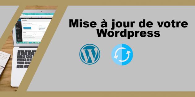mettre à jour votre site wordpress