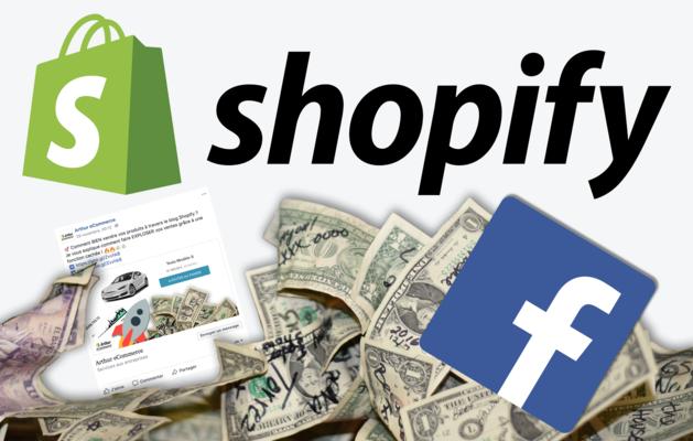 créer une publicité Facebook pour BOOSTER vos ventes Shopify