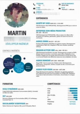 réaliser votre CV avec un joli design