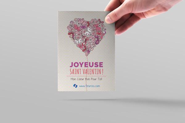créer une carte personnalisée pour la Saint-Valentin