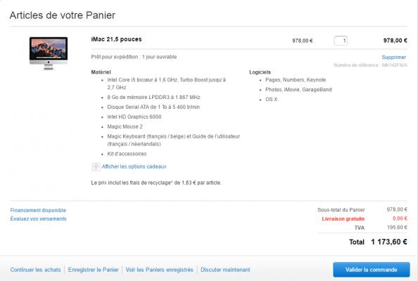 vous montrer comment economiser de (environ) 100 euros sur votre Mac Ou Ipad