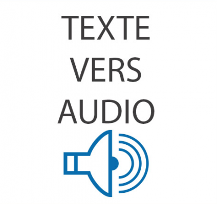 convertir votre texte de 4 pages au format WORD ou PDF en son audio de qualité pro