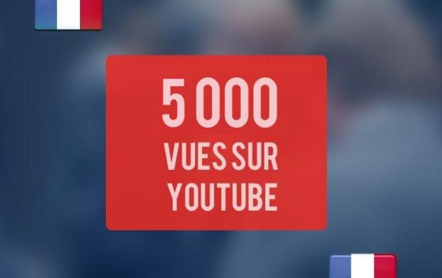 ajouter 5000 vues sur votre vidéo Youtube