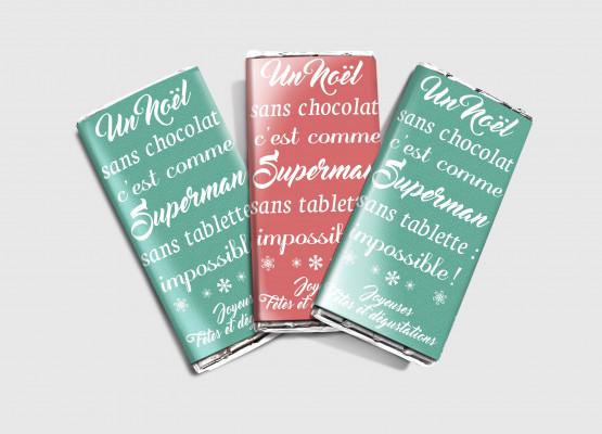 personnaliser du chocolat pour offrir