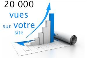 vous envoyer 20 000 visiteurs sur votre site!
