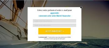 créer une pages de capture pour votre business en ligne et l'héberger pour vous
