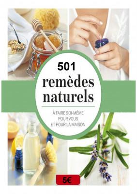 vous donner 501 Remèdes Naturels de médecins