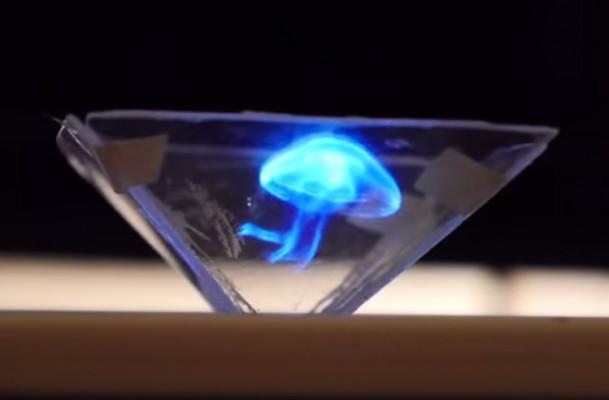 vous envoyer un guide pour fabriquer un lecteur d'holograms pour votre smartphone
