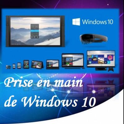 vous offrir un tutoriel Prise en main de Windows 10