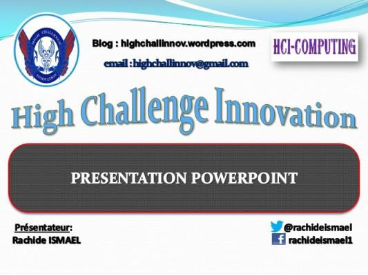 vous faire une présentation Powerpoint Pro d'un document