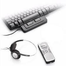 transcrire vos audios de 30 mn max sous word