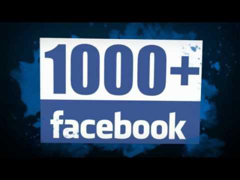 vous envoyer 1000 Likes Facebook pour statut/photo/vidéo