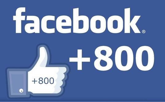 apporter 800 fans  à votre page Facebook