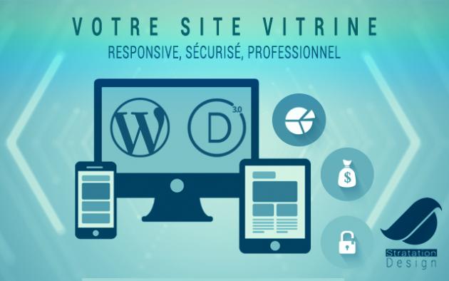 réaliser Votre site Vitrine Wordpress professionnel