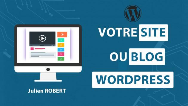 créer votre site Web avec WordPress