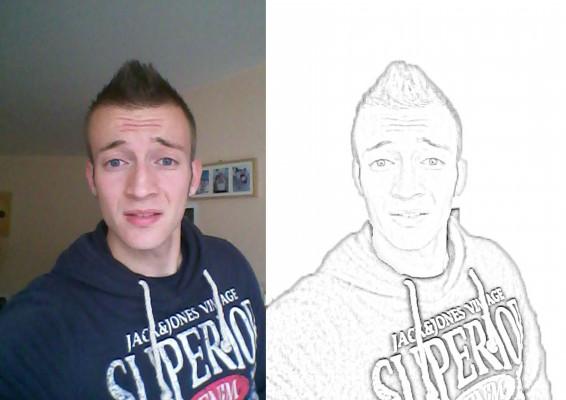 transformer votre photo en dessin