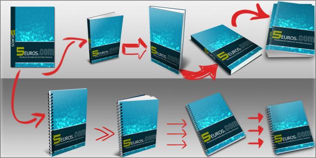 Transformer votre e-Couverture en couverture 3D en moins de 24h et seulement