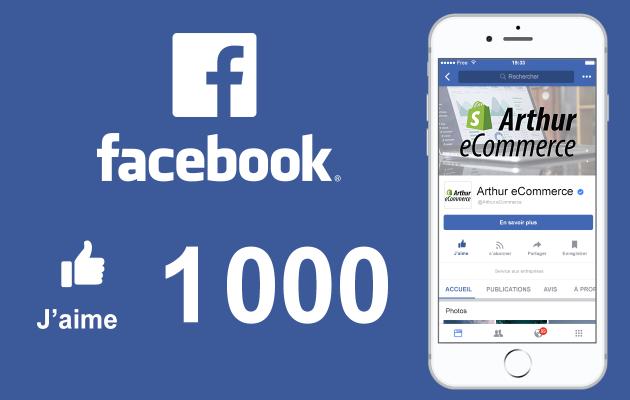vous fournir 1 000 Fans Facebook de Qualité