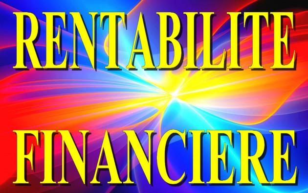 calculer votre taux de Rentabilité Financière  Comptable et Economique
