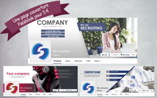 créer votre couverture Facebook, Twitter, Google+ OU YouTube
