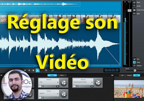 régler le son de votre vidéo