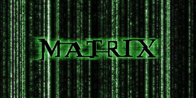 écrire votre prénom avec un effet MATRIX