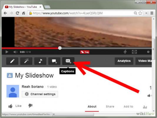créer les sous-titres de vos vidéos notamment pour youtube