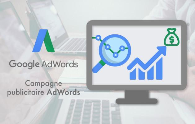 gérer votre campagne publicitaire Google AdWords