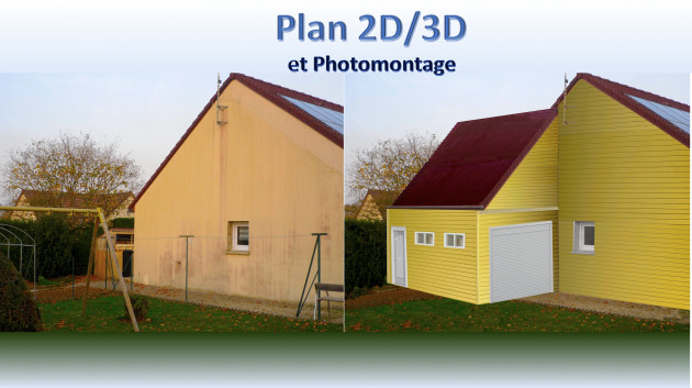 faire un plan ou photomontage