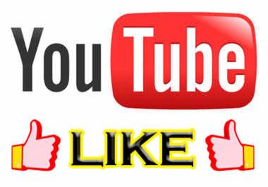 vous fournir 400 Like sur une de vos vidéos Youtube
