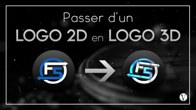 vous faire un logo 3D à partir de votre logo 2D
