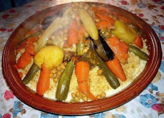 vous donner comment vous préparez le couscous marocain