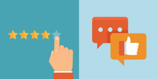 poster 5 avis positifs  sur la plateforme de votre choix