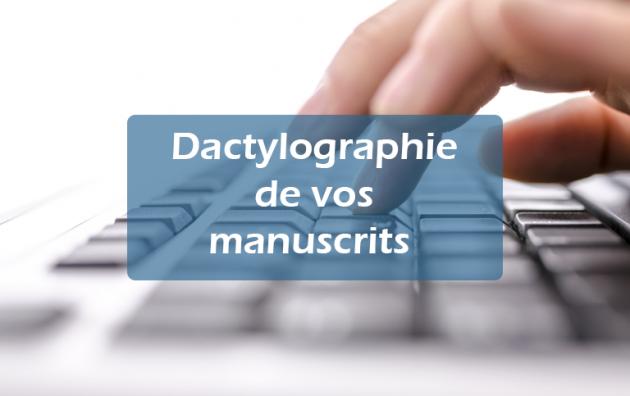 dactylographier vos manuscrits (jusqu'à 4 pages)