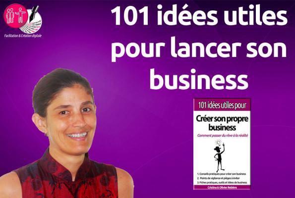 vous envoyer 101 idées utiles pour créer votre business