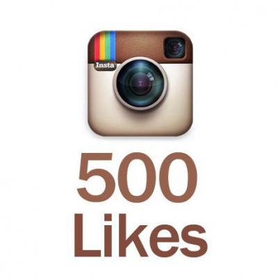 vous fournir 500 Like sur une photo Instagram