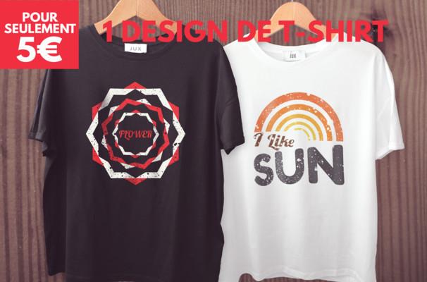 créer un design de T-shirt Pro